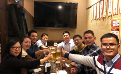 公司组团日本游了