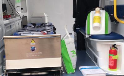 汽化过氧化氢灭菌器在急救车上的运用效果