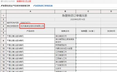 我司生产的过氧化氢消毒机,入列国家工信部发布的《疫情防控重点保障物资(医疗应急)清单》名录