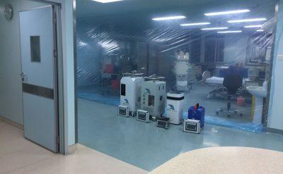 新冠肺炎病例定点收治医院,应该如何选择过氧化氢消毒器?